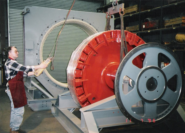 6000 HP Rotor