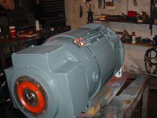 Straightener Motor